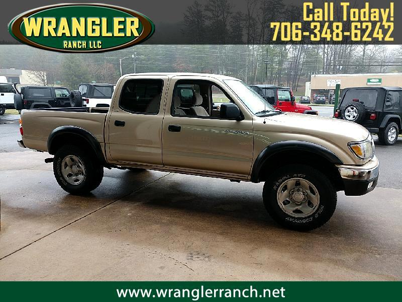 Toyota Tacoma PreRunner Double Cab 2WD 2002