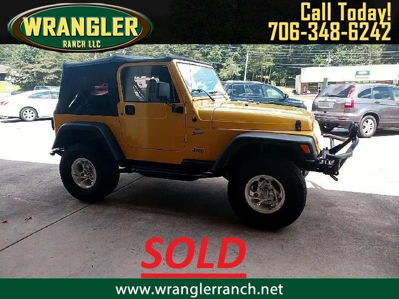 Jeep Wrangler Sport 2001