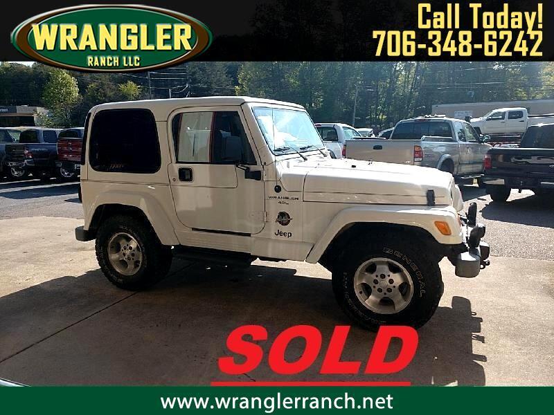 Jeep Wrangler Sahara 2000