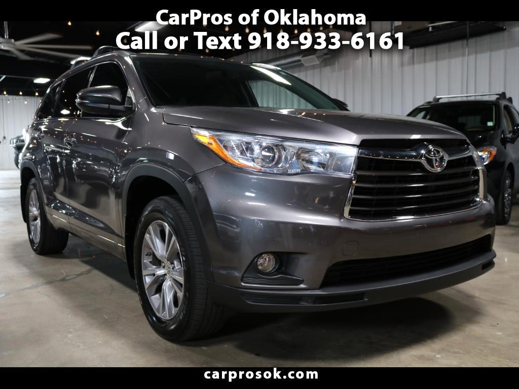 2015 Toyota Highlander XLE AWD V6 W/THIRD ROW