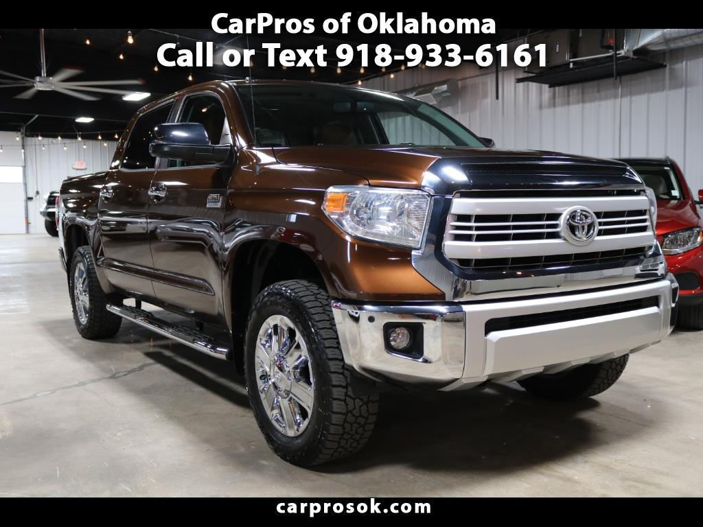 2014 Toyota Tundra 4WD 1794 Edition CrewMax 5.5' Bed 5.7L (Natl)