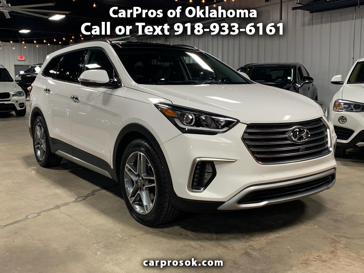 2017 Hyundai Santa Fe Limited Ultimate 3.3L Auto
