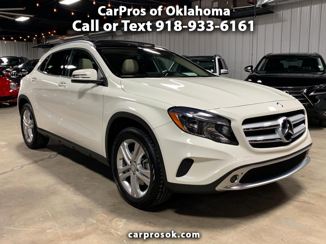 2016 Mercedes-Benz GLA GLA 250 4MATIC SUV