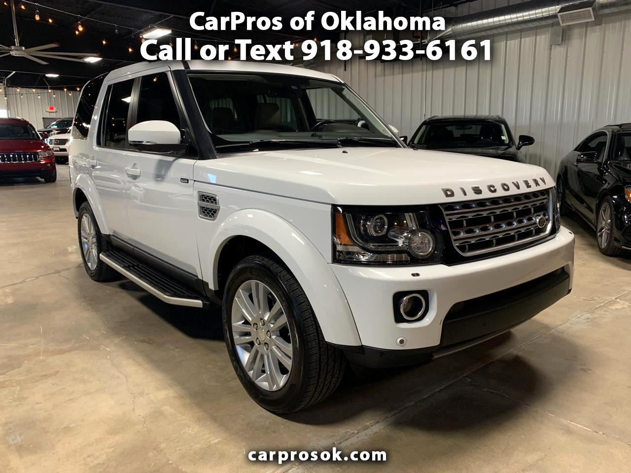 2015 Land Rover LR4 4WD 4dr LUX