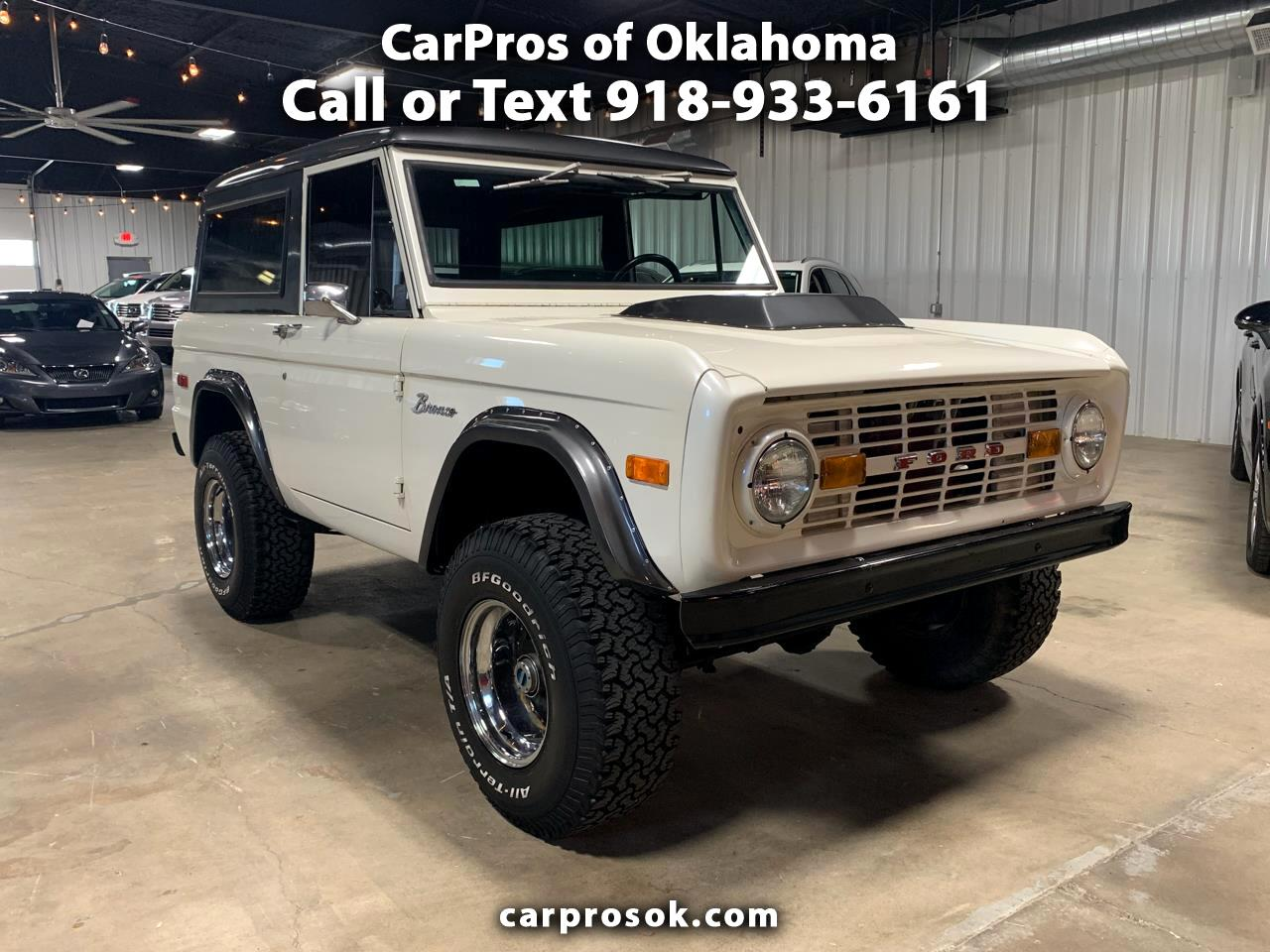 1973 Ford Bronco 4WD