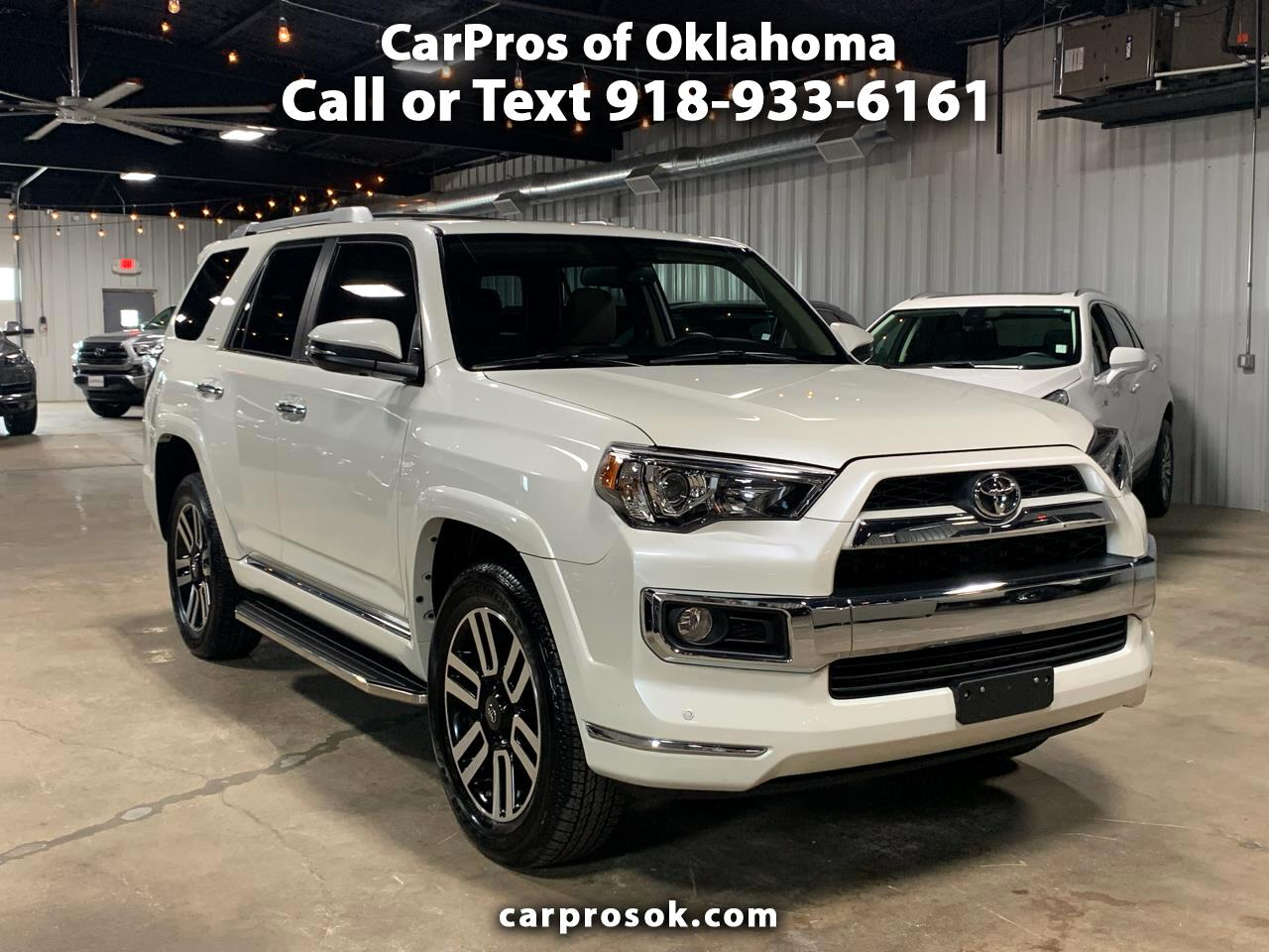 2019 Toyota 4Runner 4WD 4dr V6 Limited (Natl)