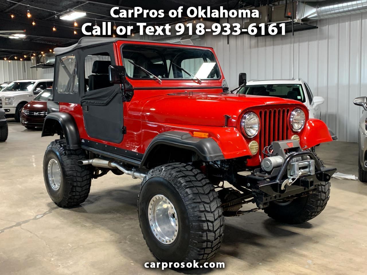 Jeep CJ-7  1980