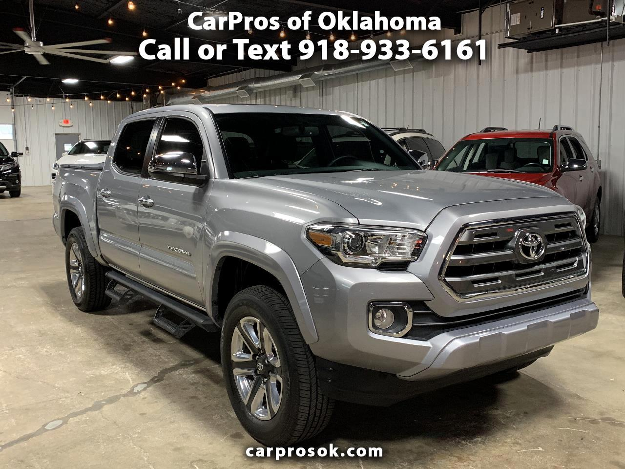 Toyota Tacoma Limited Double Cab 5' Bed V6 4x4 AT (Natl) 2017
