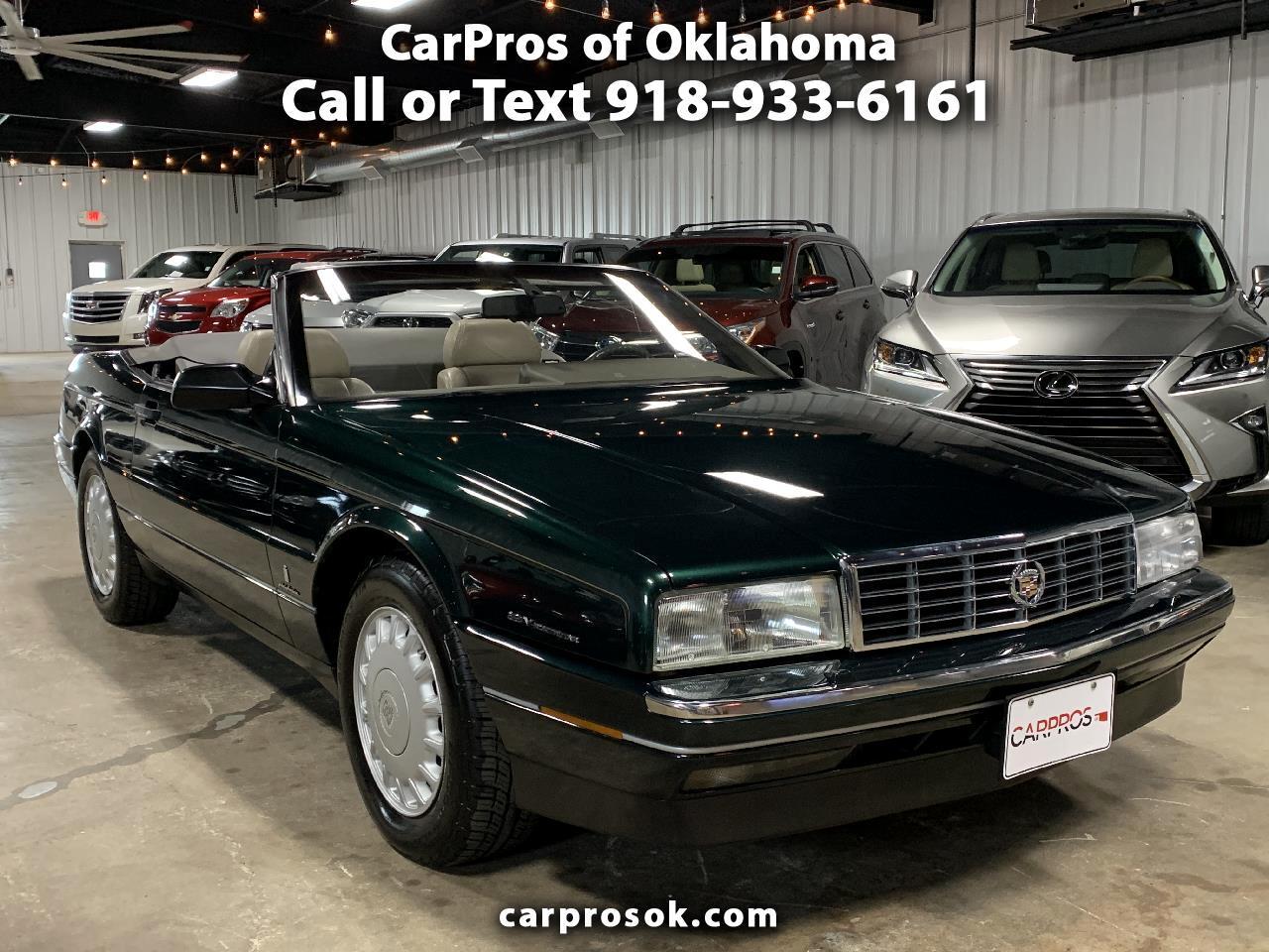 Cadillac Allante' 2dr Coupe Convertible 1993