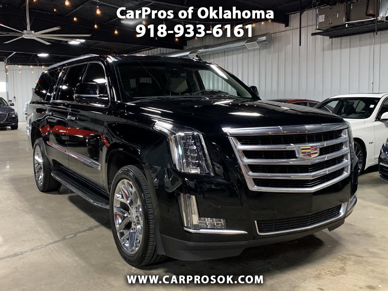 Cadillac Escalade ESV 4WD 4dr Luxury 2017