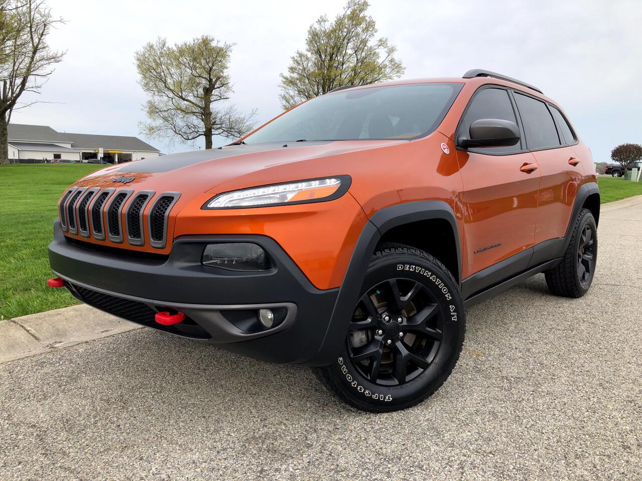 2016 Jeep Cherokee Trailhawk 4WD