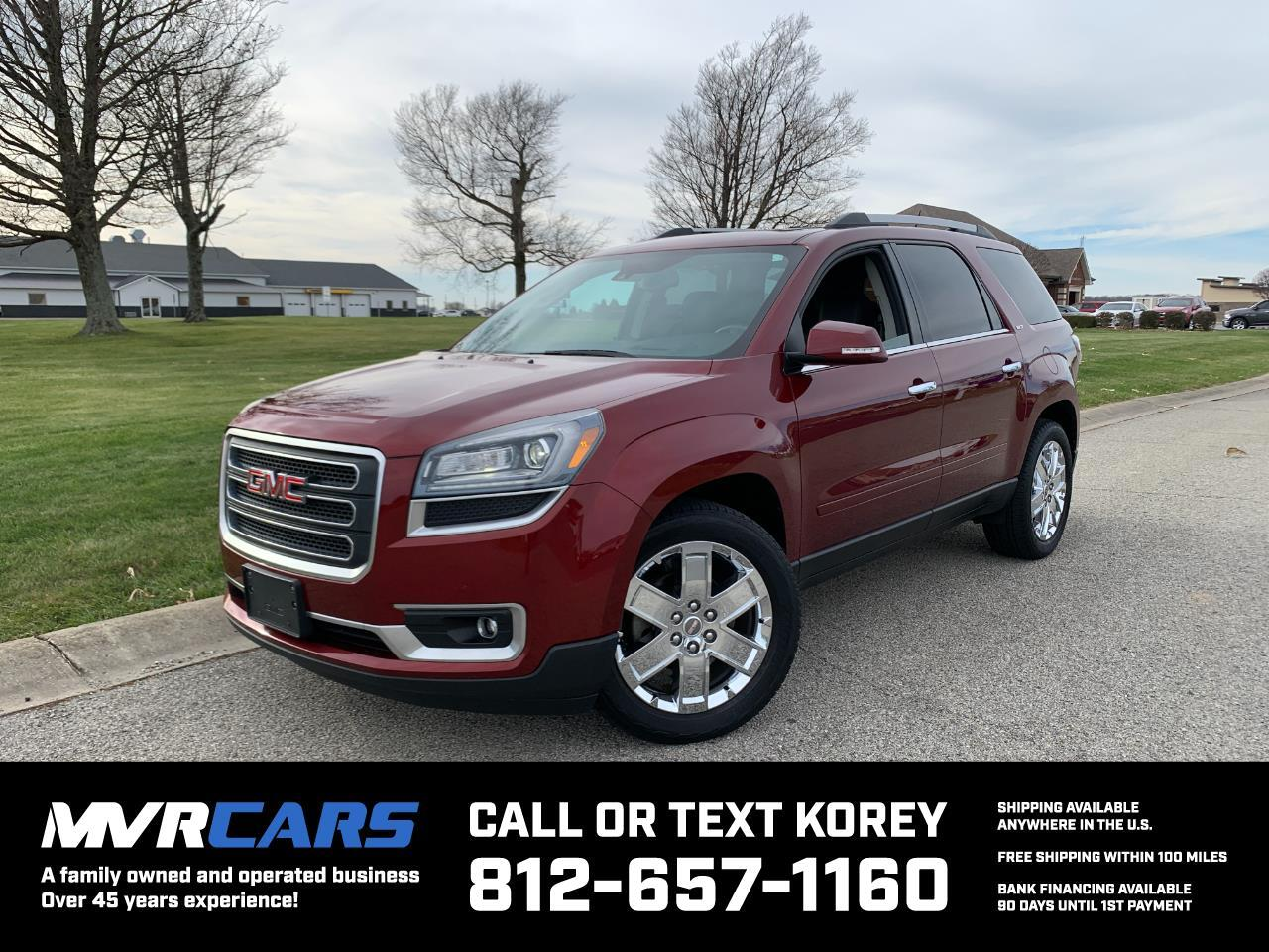 GMC Acadia Limited AWD 2017
