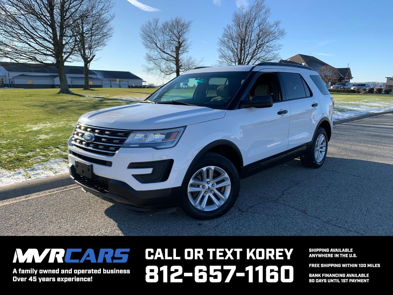 Ford Explorer 4WD 4dr Base 2017