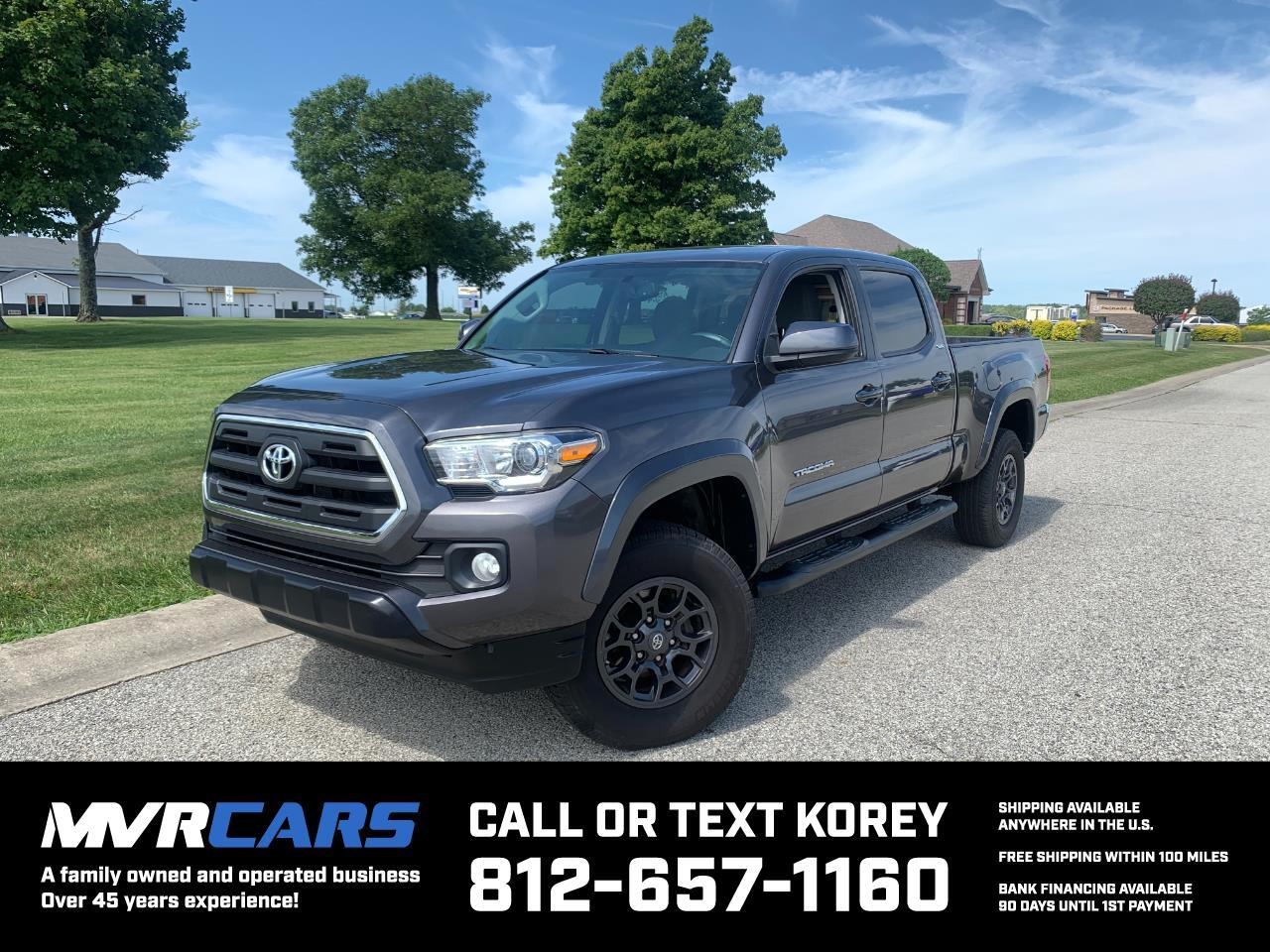 Toyota Tacoma SR5 Double Cab Super Long Bed V6 6AT 2WD 2017