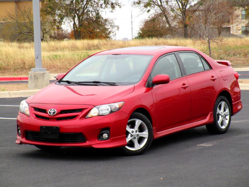 2011 Toyota Corolla S 4-Speed AT