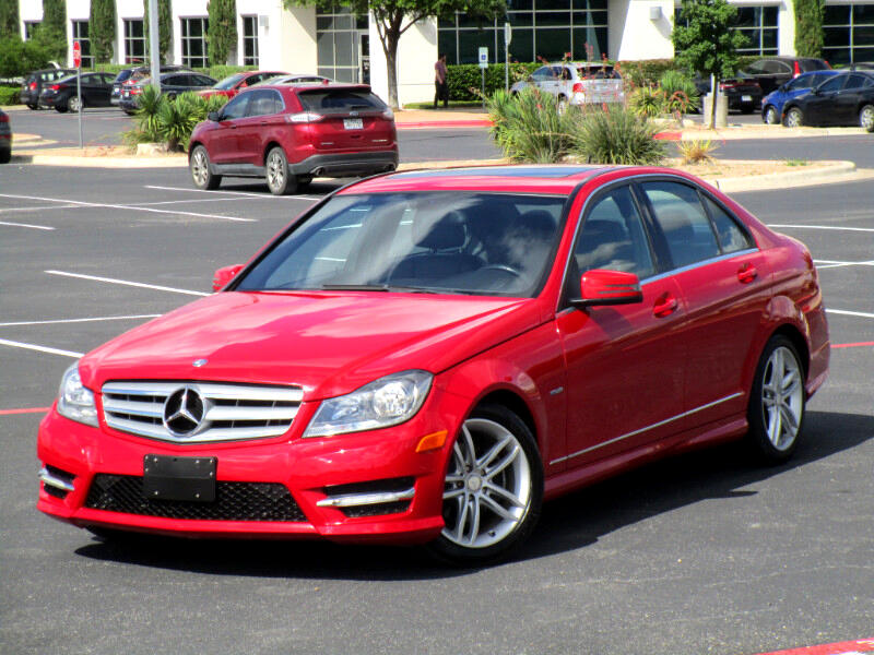 Mercedes-Benz C-Class C250 Luxury Sedan 2012