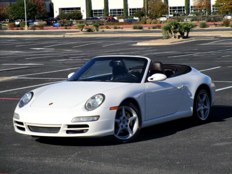 Porsche 911 Carrera Cabriolet 2008