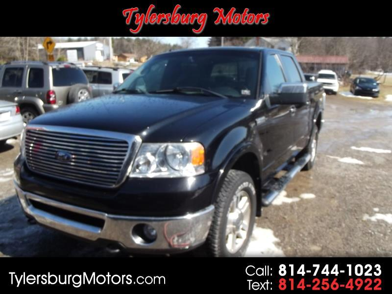 """2006 Ford F-150 4WD SuperCrew 157"""" Lariat w/HD Payload Pkg"""