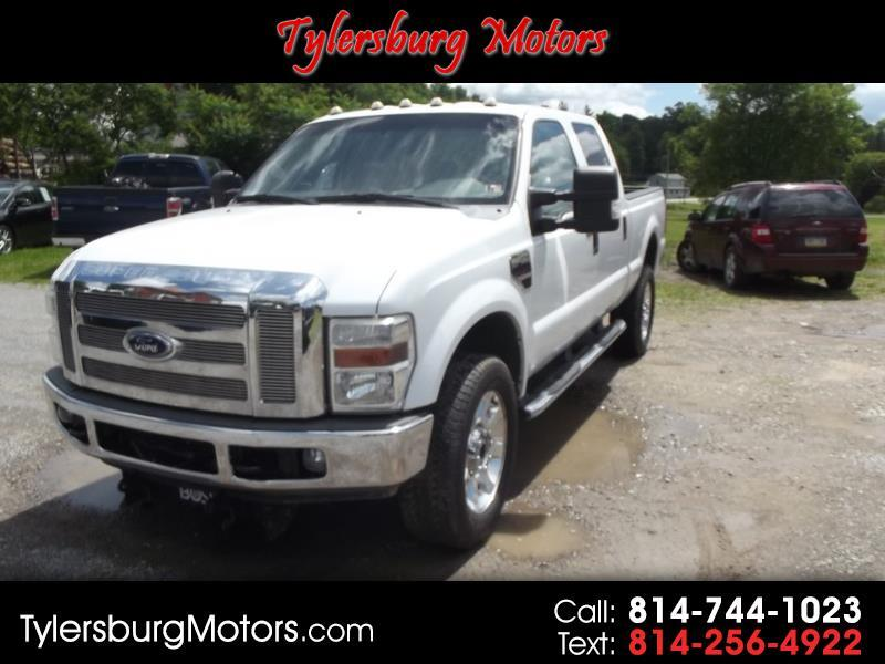 2008 Ford F-350 SD Lariat Crew Cab Short Bed 4WD DRW