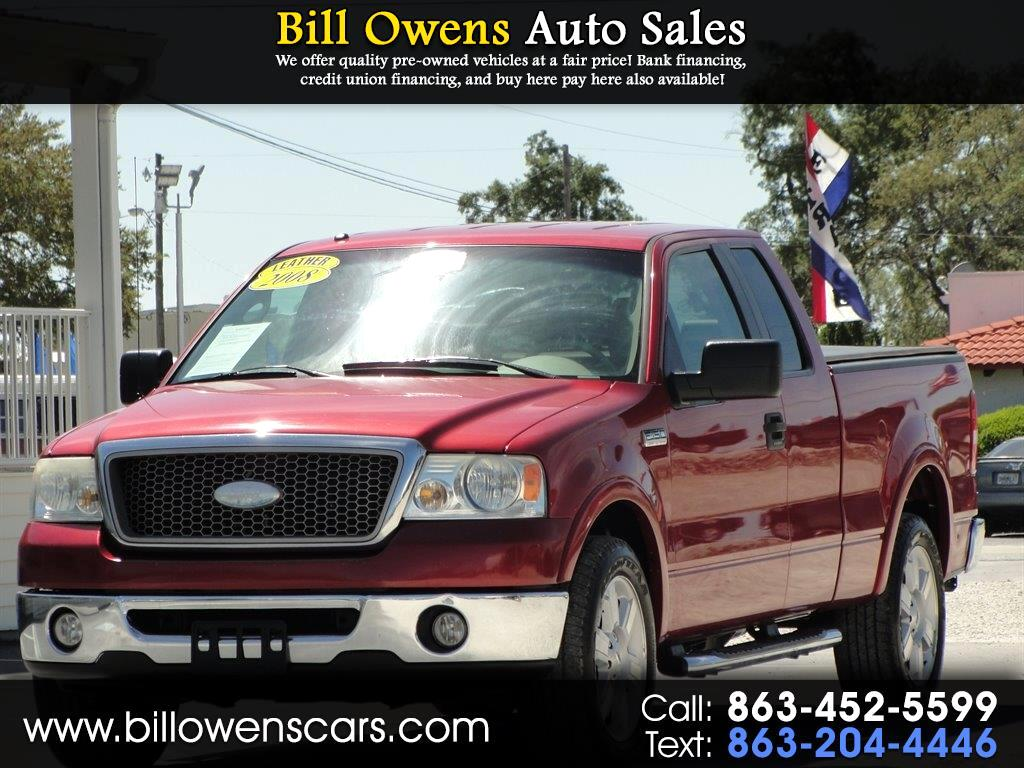 2008 Ford F-150 Lariat 2WD SuperCab 6.5' Box