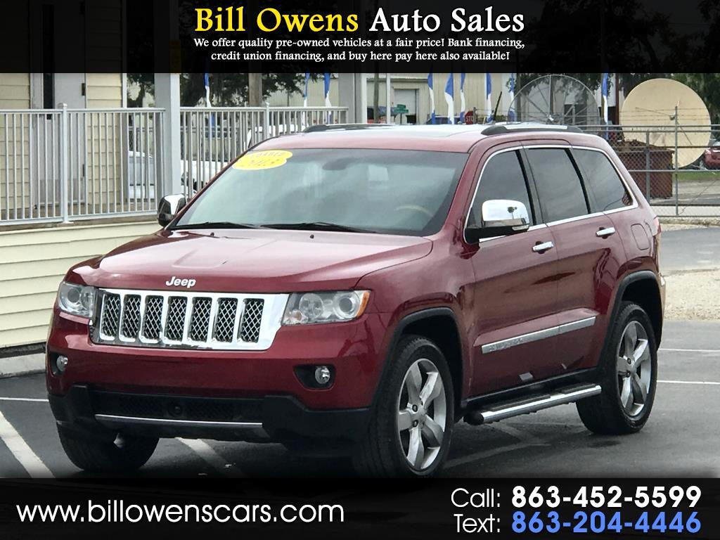 2013 Jeep Grand Cherokee RWD 4dr Overland