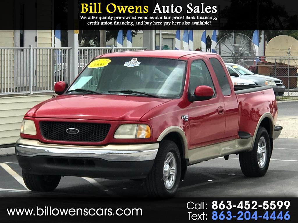 2000 Ford F-150 2WD Supercab 133