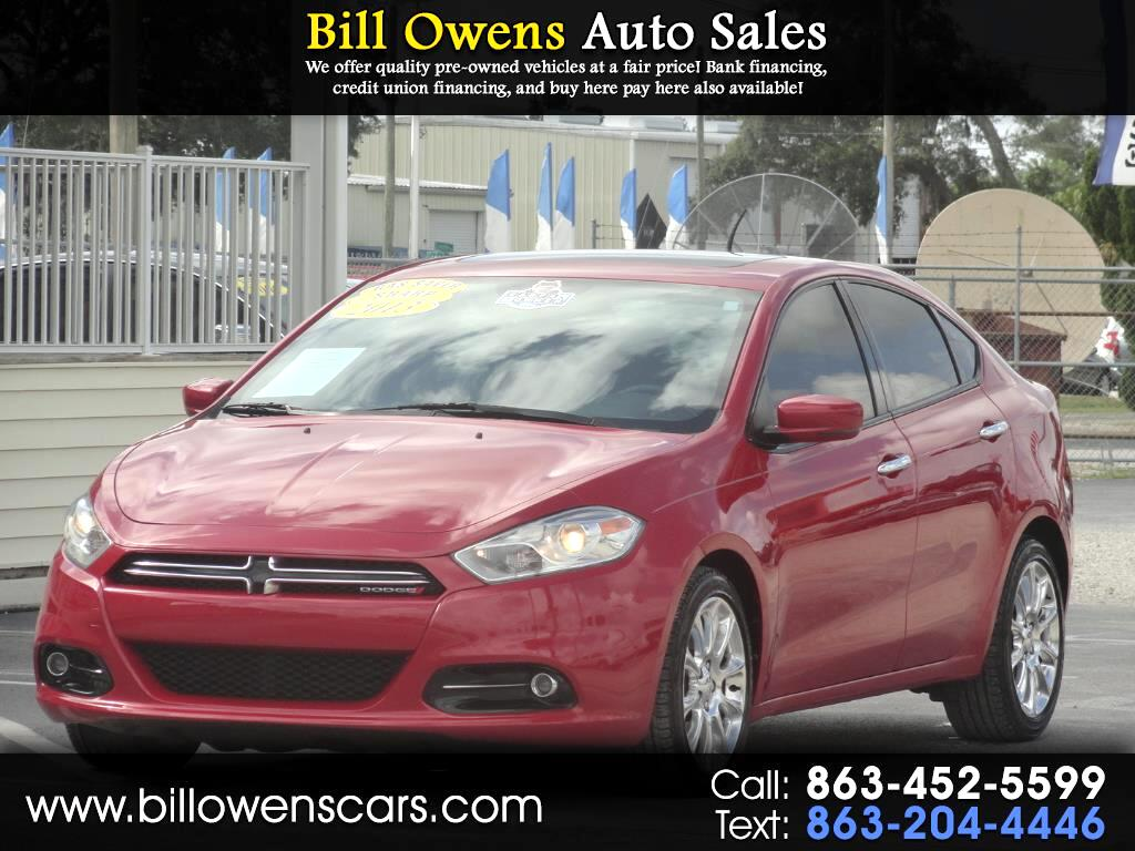 2013 Dodge Dart 4dr Sdn Limited