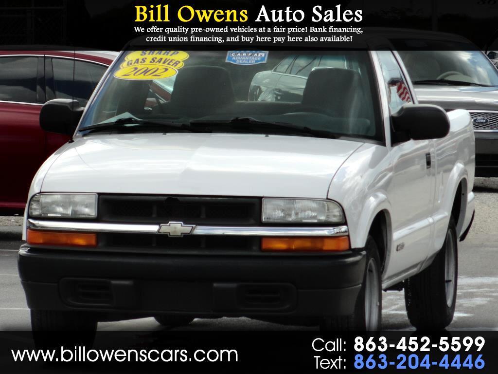 "2002 Chevrolet S-10 Ext Cab 123"" WB"
