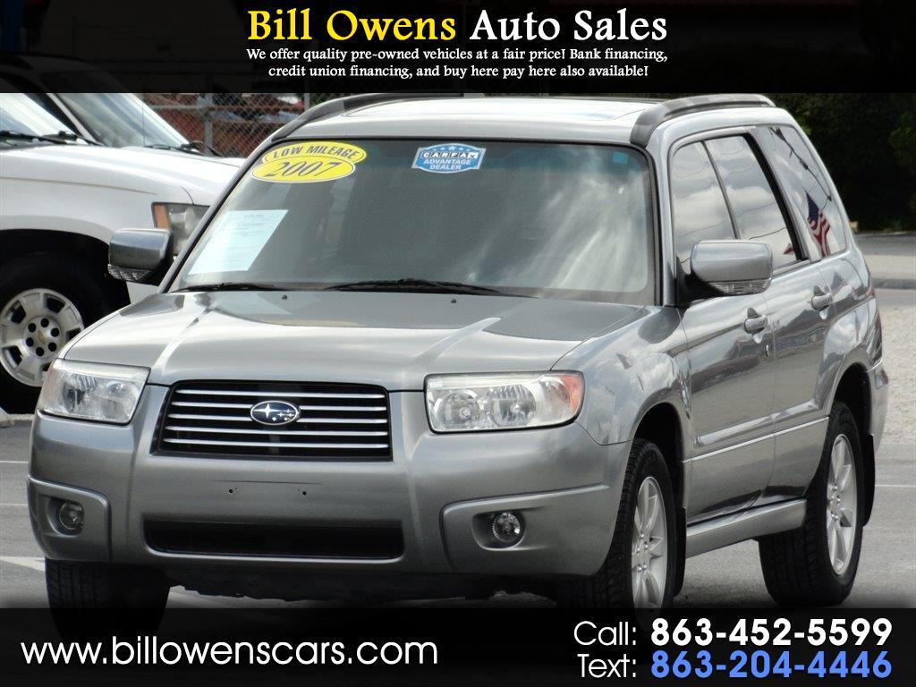 2007 Subaru Forester AWD 4dr H4 AT X w/Premium Pkg