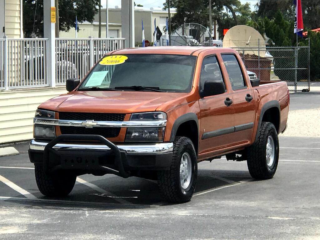 """2006 Chevrolet Colorado Crew Cab 126.0"""" WB 4WD LT w/2LT"""