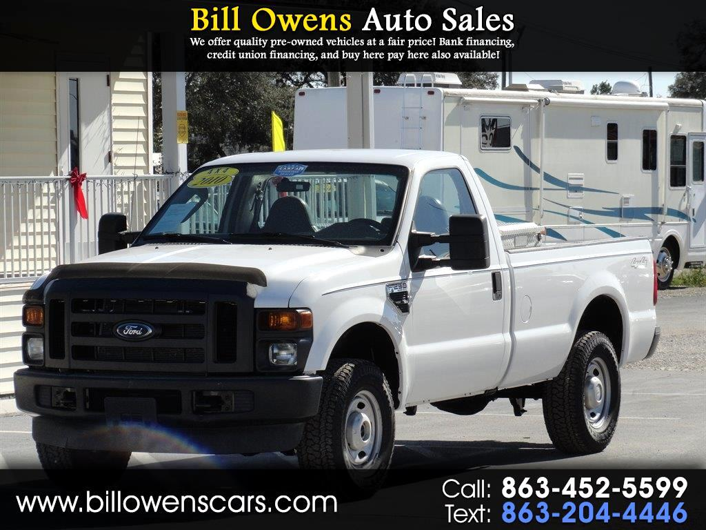 "2010 Ford Super Duty F-250 SRW 4WD Reg Cab 137"" XL"