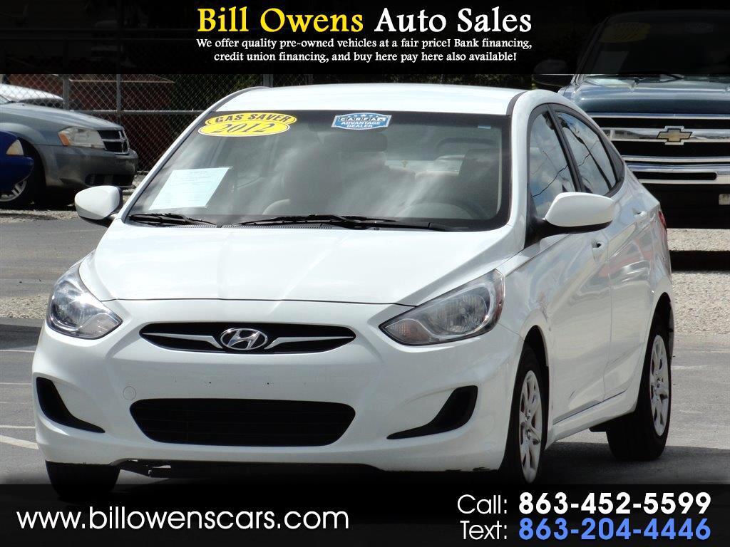 2012 Hyundai Accent 4dr Sdn Auto GLS