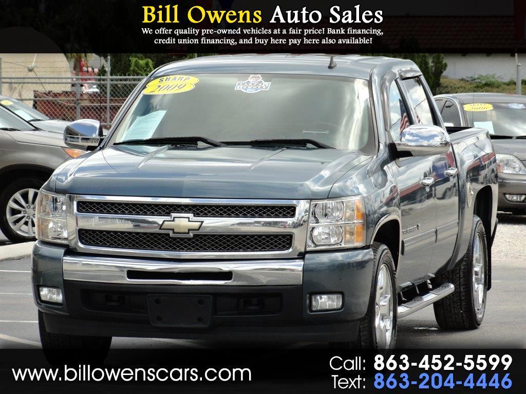 """2009 Chevrolet Silverado 1500 2WD Crew Cab 143.5"""" LT"""
