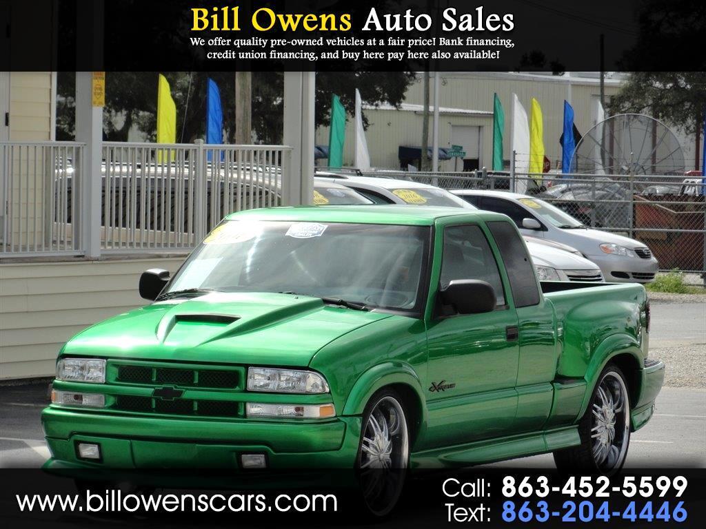 "2001 Chevrolet S-10 Ext Cab 123"" WB LS Xtreme"