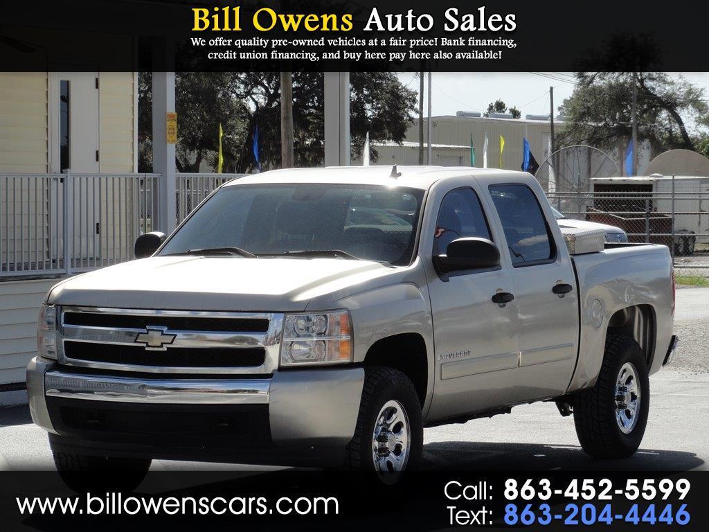 """2007 Chevrolet Silverado 1500 2WD Crew Cab 143.5"""" LT w/1LT"""