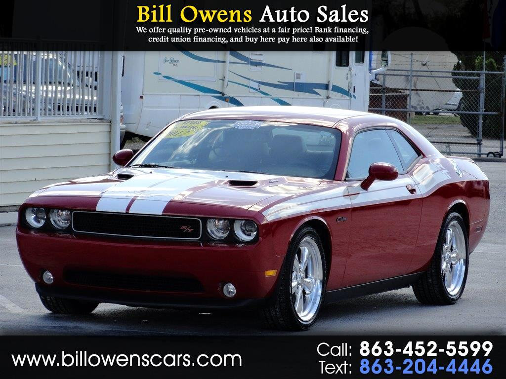2012 Dodge Challenger 2dr Cpe R/T Classic