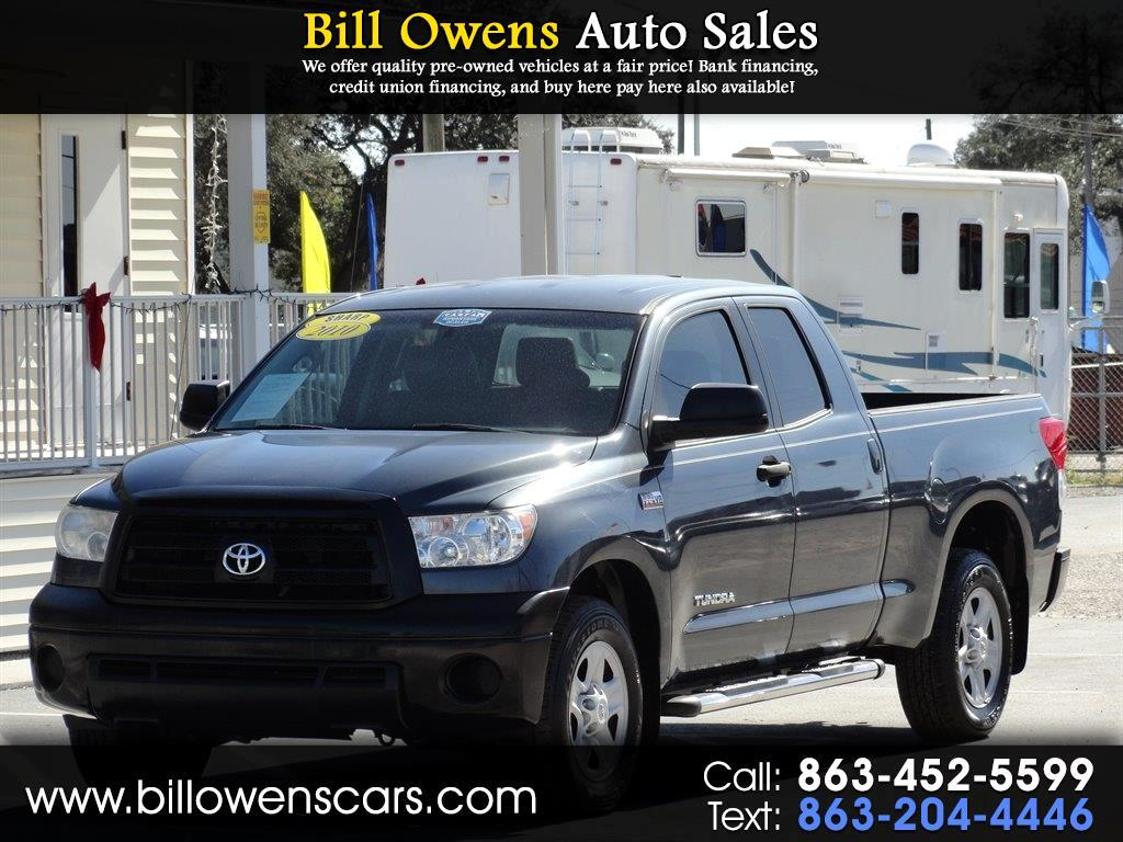 2010 Toyota Tundra 2WD Truck Dbl 5.7L V8 6-Spd AT  (Natl)