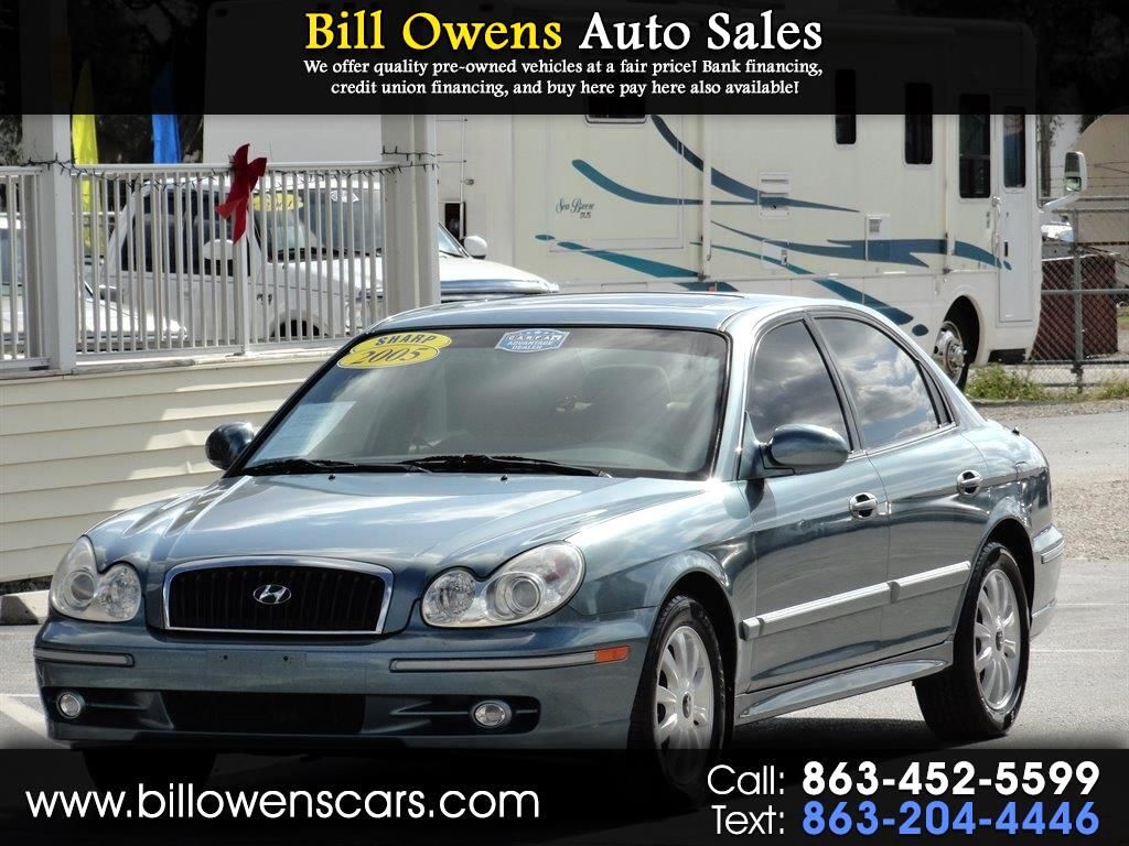 2005 Hyundai Sonata 4dr Sdn GLS V6 Auto *Ltd Avail*