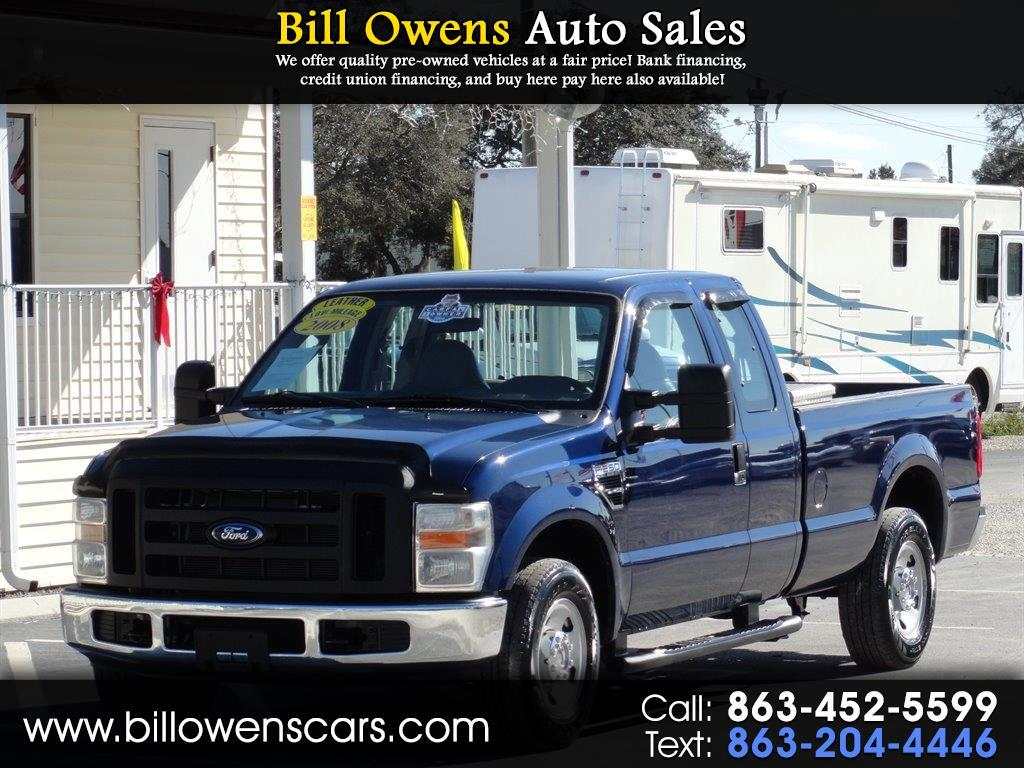 "2008 Ford Super Duty F-250 SRW 2WD SuperCab 142"" XL"