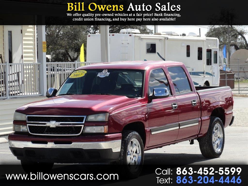 "2007 Chevrolet Silverado 1500 Classic 2WD Crew Cab 143.5"" LS"