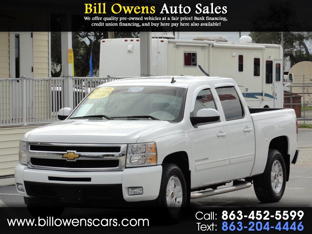 """2010 Chevrolet Silverado 1500 2WD Crew Cab 143.5"""" LTZ"""