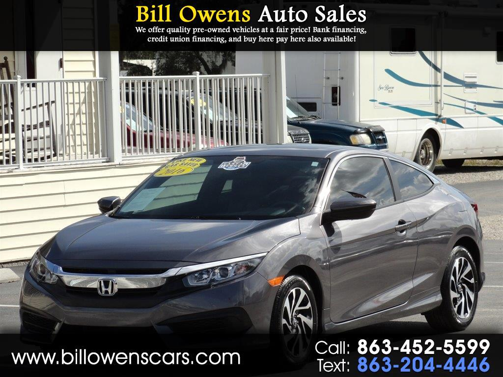 2016 Honda Civic Coupe 2dr CVT LX-P