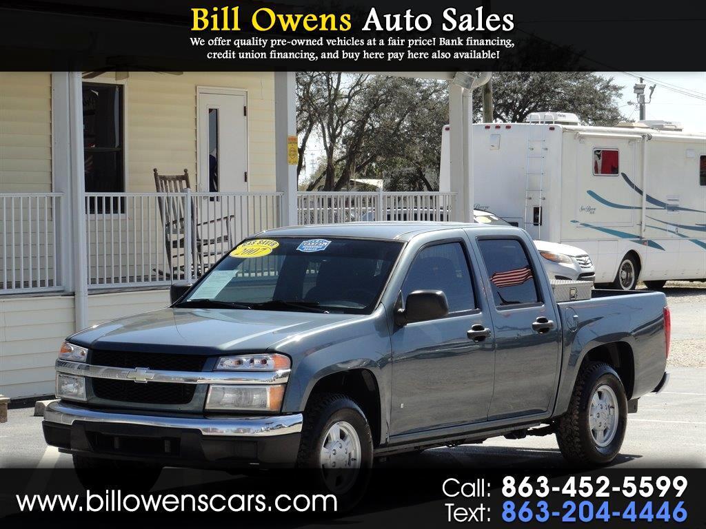 "2007 Chevrolet Colorado 2WD Crew Cab 126.0"" LT w/1LT"