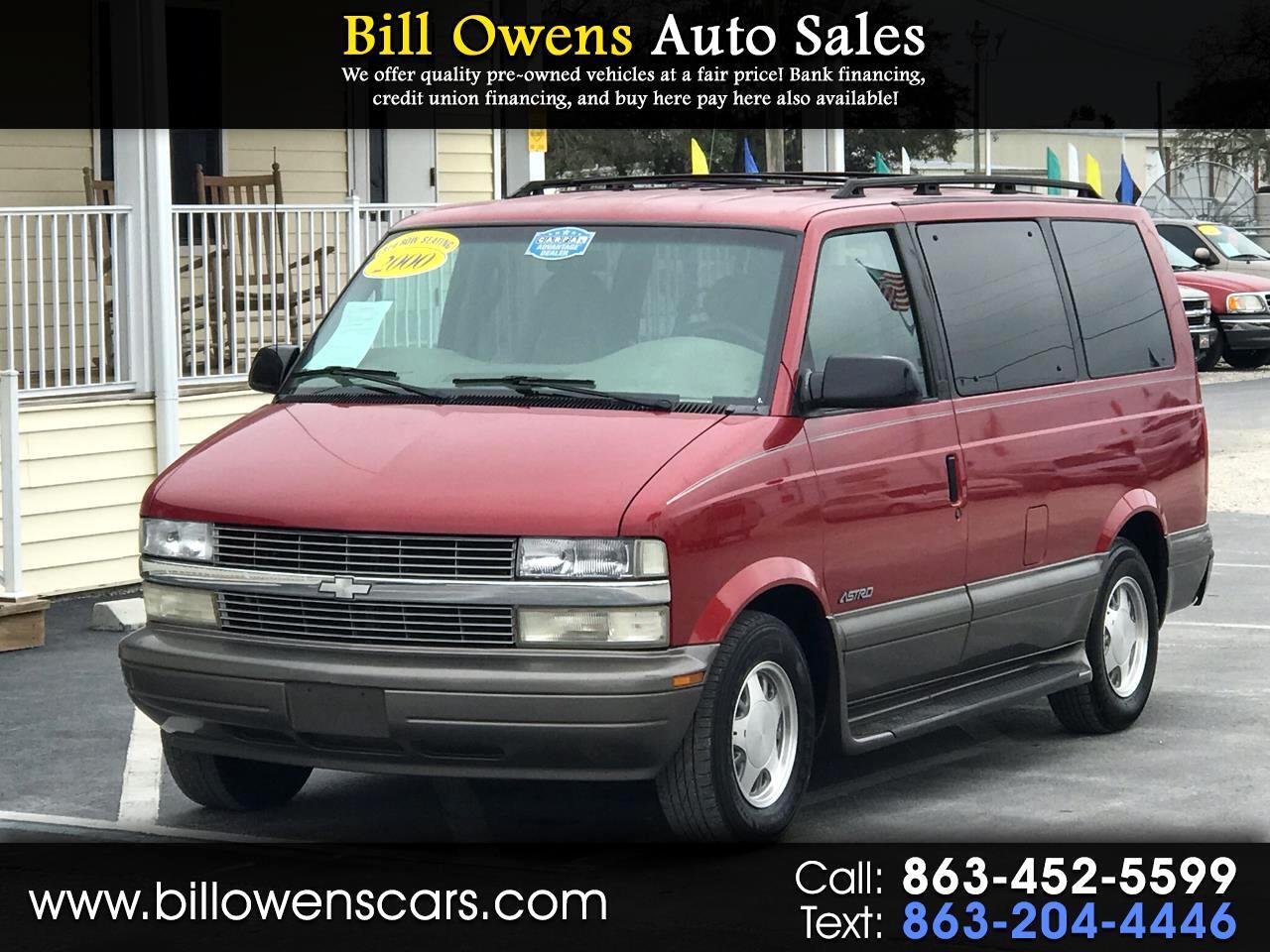 "2000 Chevrolet Astro Passenger 111"" WB RWD"