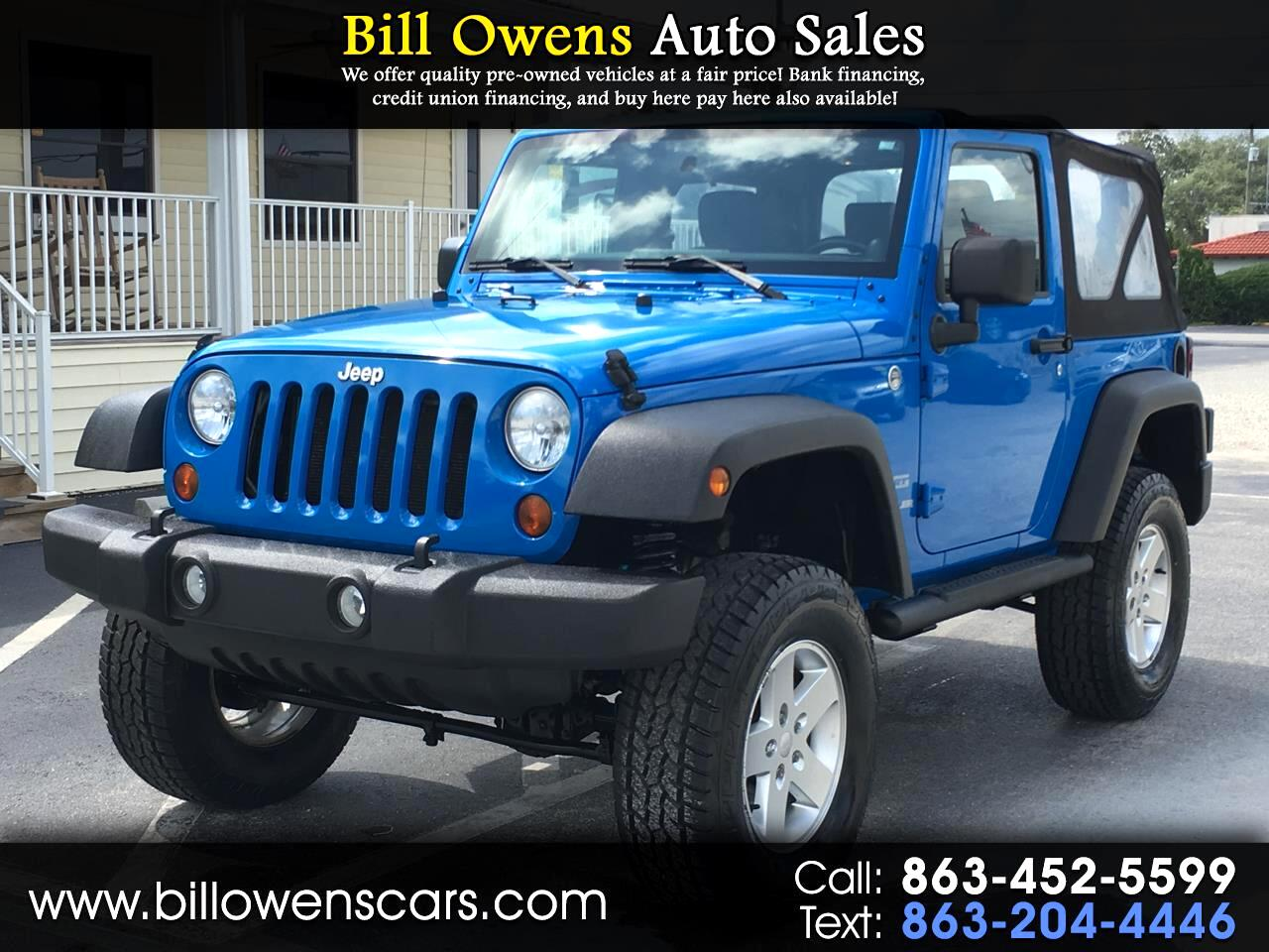 2011 Jeep Wrangler 4WD 2dr Sport