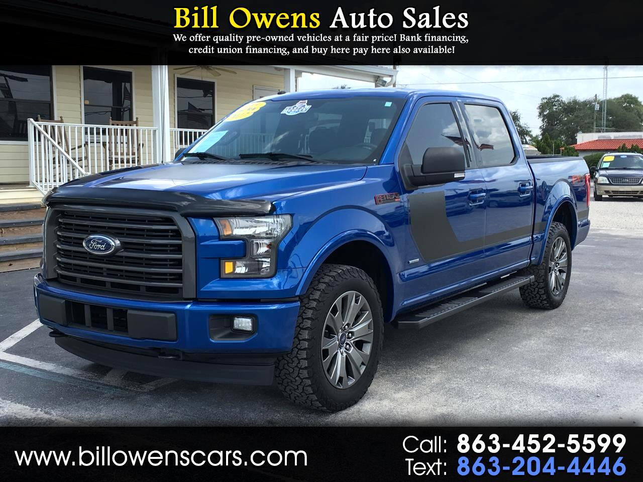 2017 Ford F-150 4WD SuperCrew 145