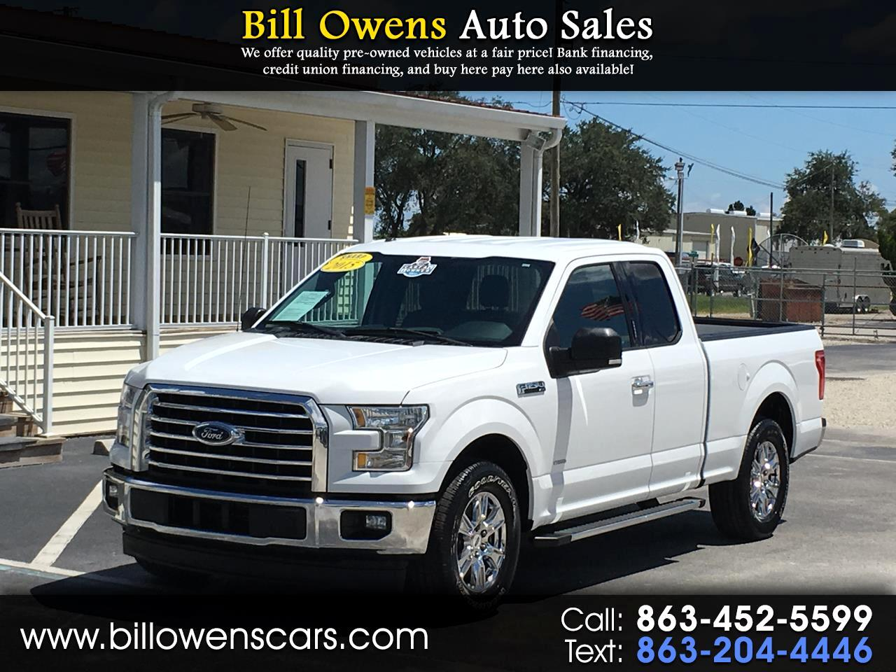 "2015 Ford F-150 2WD SuperCab 145"" XLT"
