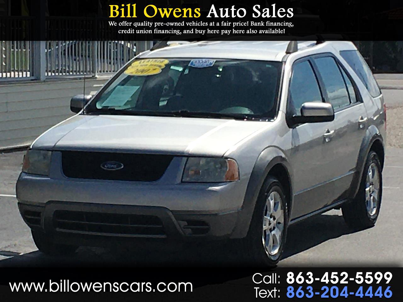 Ford Freestyle 4dr Wgn SEL FWD 2007