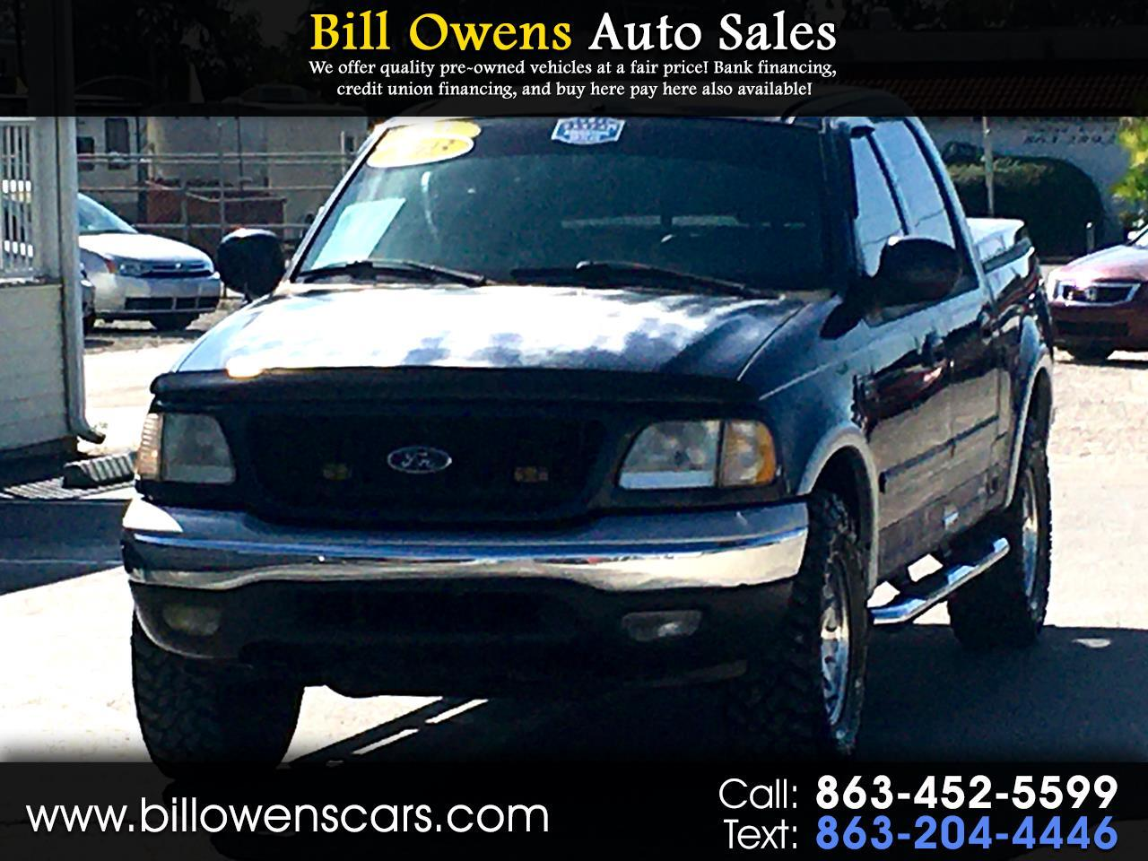 "Ford F-150 4WD SuperCrew 139"" Lariat 2003"