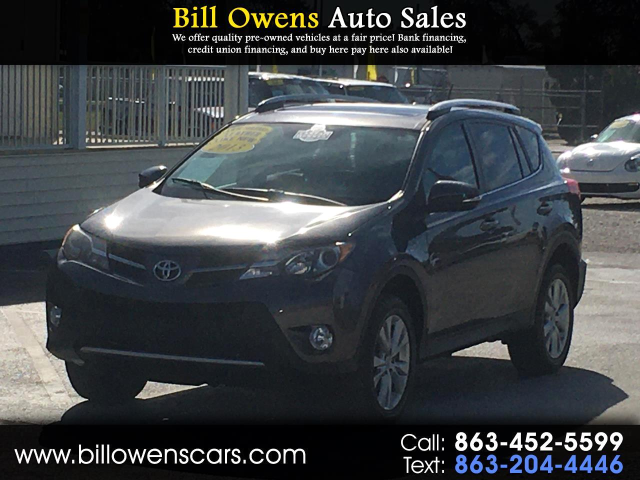 Toyota Bill Pay >> Used 2013 Toyota Rav4 In Avon Park Fl Auto Com 2t3yfrev2dw046490